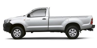 Toyota Hilux S/C 2005-2016 TPE Floor Liners