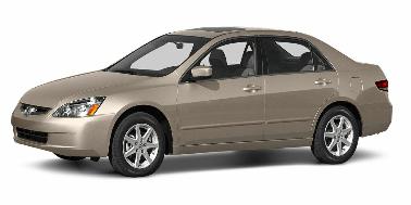 Honda Accord 2003-2007 Sedan TPE Boot Liner