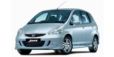 Honda Jazz 2001-2008 Hatchback TPE Boot Liner