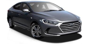 Hyundai Elantra AD 2016-Present Sedan TPE Boot Liner