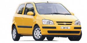 Hyundai Getz 2002-2011 Hatchback TPE Boot Liner