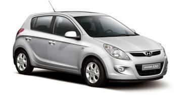 Hyundai i20 2008-2014 Hatchback TPE Boot Liner