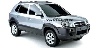 Hyundai Tucson 2004-2009 SUV TPE Boot Liner