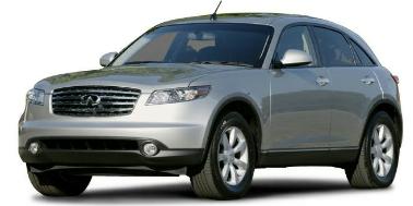 Infiniti FX35 2003-2009 SUV TPE Boot Liner