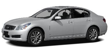 Infiniti G35X 2009-Present Sedan TPE Boot Liner