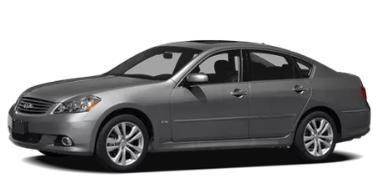 Infiniti M35X 2006-2010 Sedan TPE Boot Liner