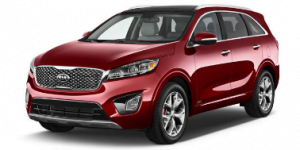 Kia Sorento 2015-Present 7-seater SUV TPE Boot Liner
