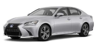 Lexus GS 450h 2012-Present Sedan TPE Boot Liner