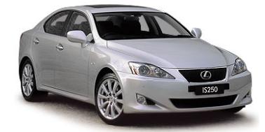 Lexus IS250 2005-2013 Sedan TPE Boot Liner