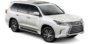 Lexus LX570 2007-Present 7-seater SUV TPE Boot Liner
