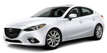 Mazda 3 2014-2018 Sedan TPE Boot Liner