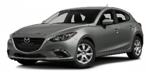 Mazda 3 2014-2018 Hatchback TPE Boot Liner