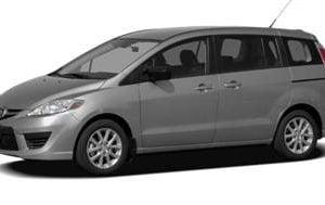 Mazda 5 2010-2014 Wagon TPE Boot Liner