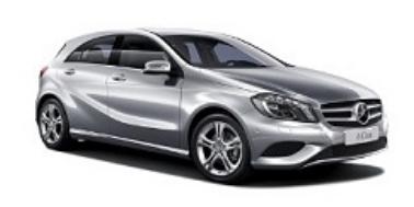 Mercedes-Benz A-Class 3 (W176) 2012-2018 Hatchback TPE Boot Liner