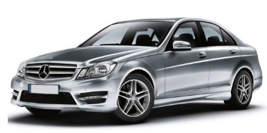 Mercedes-Benz C-Class (W204) 2007-2014 Sedan TPE Boot Liner