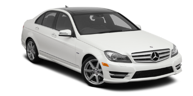 Mercedes-Benz C-Class (W204) 2011-2014 Sedan TPE Boot Liner