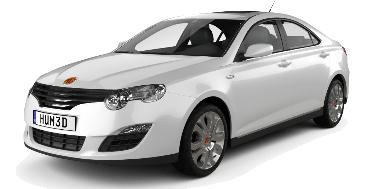 MG 550 2011-Present Sedan TPE Boot Liner