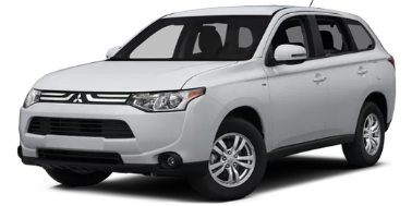 Mitsubishi Outlander XL 2013-Present SUV (without organizer) TPE Boot Liner