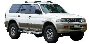 Mitsubishi Pajero Sport 1997-2008 SUV TPE Boot Liner