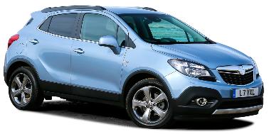 Opel Mokka 2012-Present SUV TPE Boot Liner