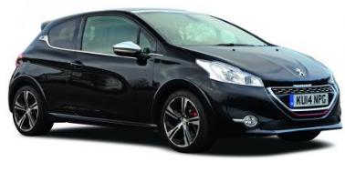 Peugeot 208 2012-2019 Hatchback TPE Boot Liner