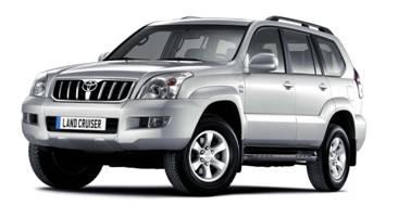 Toyota Prado (LC120) 2003-2009 TPE Boot Liner (GREY)