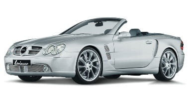 Mercedes-Benz SL-Class (R230) 2008-Present TPE Boot Liner