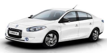 Renault Fluence 2010-Present Sedan TPE Boot Liner