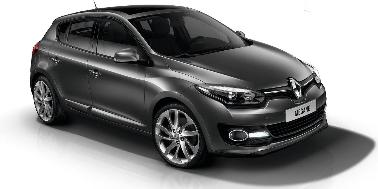 Renault Megane 2010-2015 Hatchback TPE Boot Liner