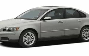Volvo S40 2004-2012 Sedan TPE Boot Liner