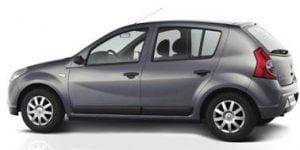 Renault Sandero 2010-2012 Hatchback TPE Boot Liner