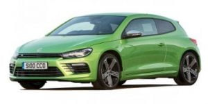 VW Scirocco 2009-Present Coupe TPE Boot Liner
