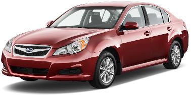 Subaru Legacy 2010-Present Sedan TPE Boot Liner