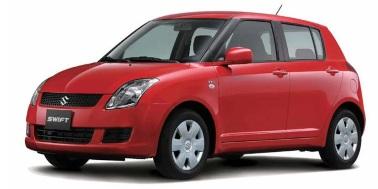 Suzuki Swift 2004-2010 Hatchback TPE Boot Liner