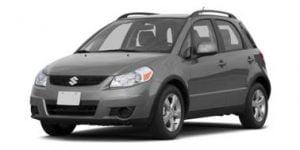Suzuki SX4 2010-2014 Hatchback Top TPE Boot Liner