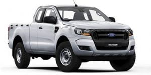 Ford Ranger T6 Supercab 2011- Present TPE Floor Liners