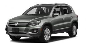 VW Tiguan 2007-2016 SUV TPE Boot Liner
