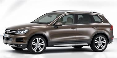 VW Touareg 2010-2018 SUV TPE Boot Liner