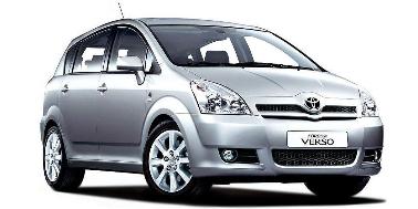 Toyota Corolla Verso 2004-2009 Wagon TPE Boot Liner