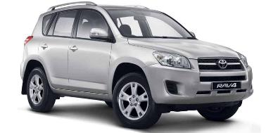 Toyota RAV4 2005-2012 SUV TPE Boot Liner