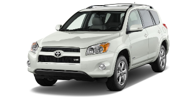 Toyota RAV4 2010-2012 SUV TPE Boot Liner
