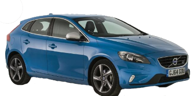 Volvo V40 2012-Present Hatchback Facelifted (Europe) TPE Boot Liner