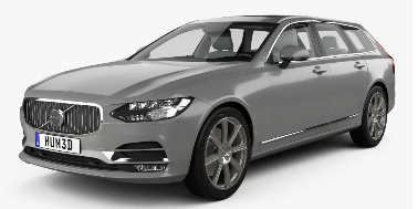 Volvo V90 2016-Present Wagon (Europe) TPE Boot Liner