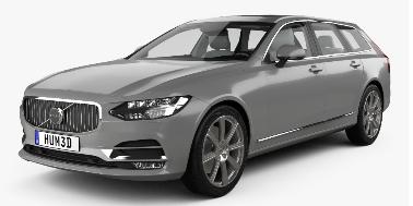 Volvo V90 2016-Present Wagon (Europe) TPE Boot Liner