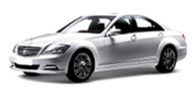 Mercedes-Benz S-Class (W221) 2005-2013 TPE Boot Liner